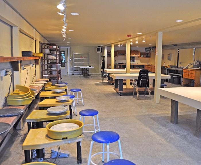 Jansen Art Center Ceramics Studio Lynden Jansen Art Center