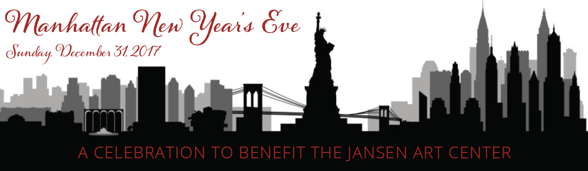 the jansen art center would like to invite you to our annual fundraising event manhattan new years eve on sunday december 31 from 530 pm 930 pm