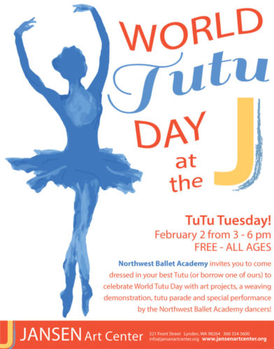 Tutu Day flyer