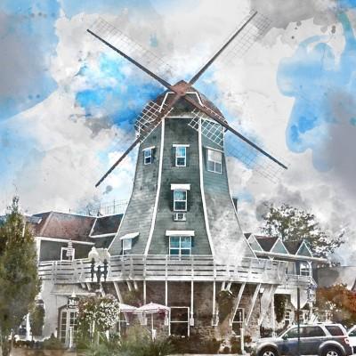 DANIEL PHILLIPS-The Artist Windmill