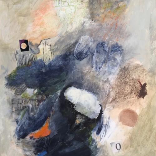 Sara Todd-Bending of Anxieties-22x30 mixed media