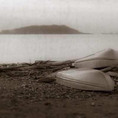 Lummi Island Skiffs by Lorraine Day