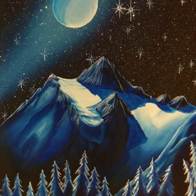 EvanW.Shuksan Moon 30x17