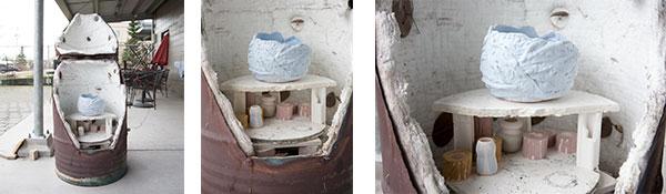 Ceramics-Raku-Kiln