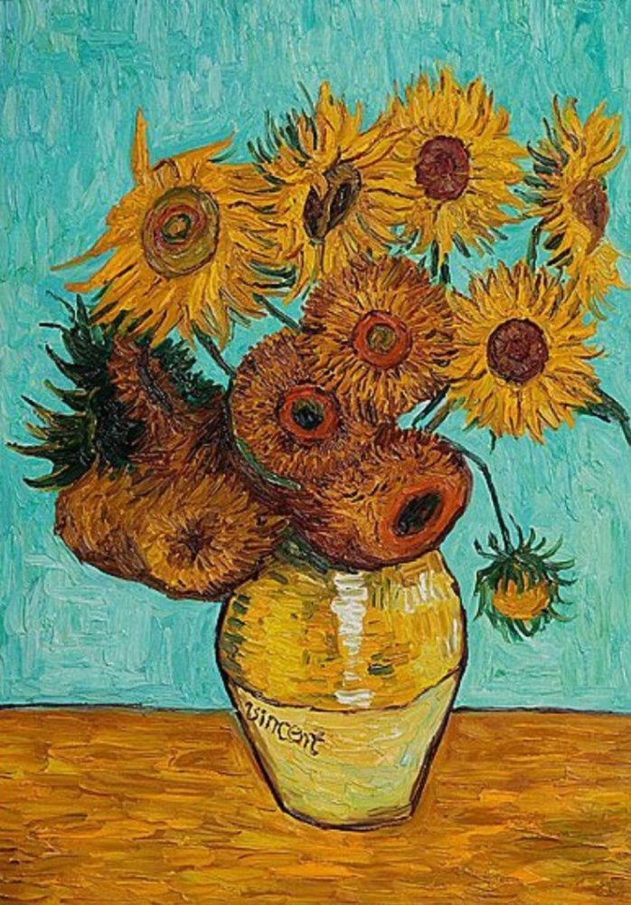 Inspired By Van Gogh S Sunflowers Paint And Wine Night