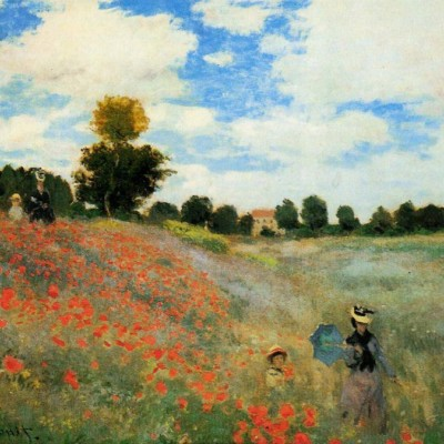 poppy field near argenteuil