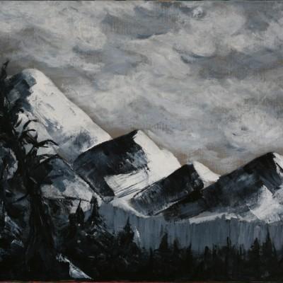 CHRISTINA DAVIS - quartet-16x12-acryic