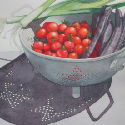 Deborah Miller - Harvest - watercolor - 11x14