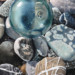Glass Float and Beach Rocks