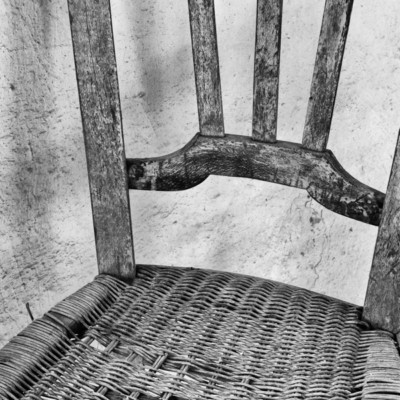 JOHN SEDGWICK-Monks Chair, Crete 18x24 Photography