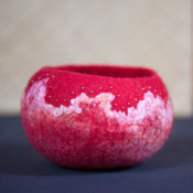 felted bowl square image