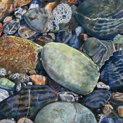 Beach Rocks and Water (c) Np (1)
