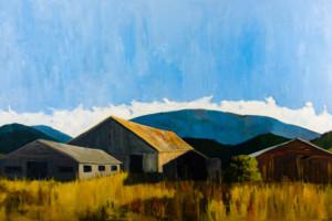 Barns in Bow - Elizabeth Wonnacott