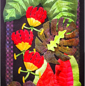 "Leotie Richards Tropical Wonder Hand-Dyed Wool 14"" x 36"""