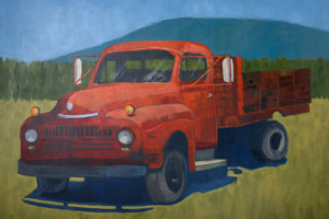 Old Red Farm Truck - Elizabeth Wonnacott