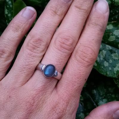 Beginning Jewelry Series Cabochon Gemstone Ring