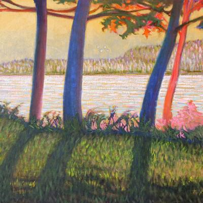Portage Island Oil on Canvas, 24x60