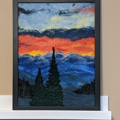 """Colorado Sunset"" by Diane Bowman"