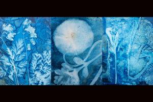 Ellen Dooley Pasture Treasure Triptych