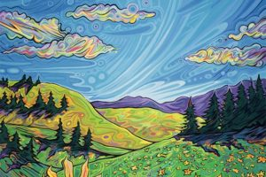 Emily Zimmerman East Over the Mountains