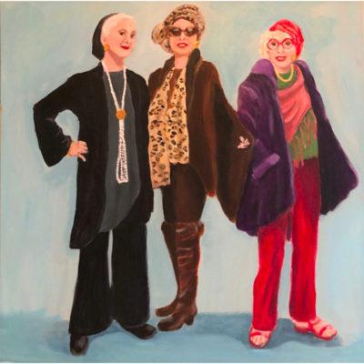 Linda Calkins, Ladies Who Lunch 800x800