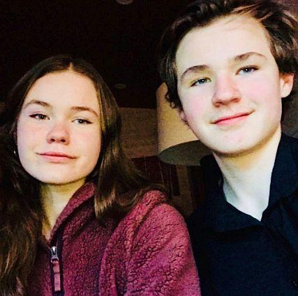 Kaia and Max Rasmussen