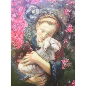 Ellen G. Spring, Mary and the Lamb