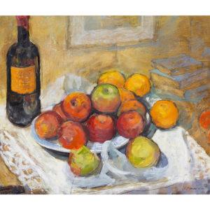 Kammer Still Life Apples and Oranges