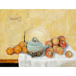 Kammer Still Life With Teapot