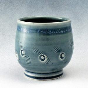 Brown_PorcelainBluecup