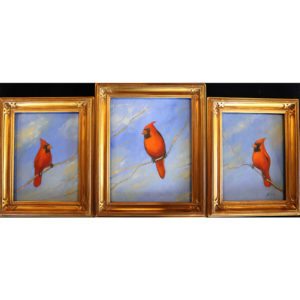 Kinney Red Feather Day Triptych