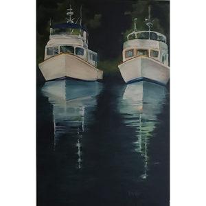 Bates, Two Boats
