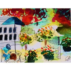 Brighten, Butchart Garden Cafe