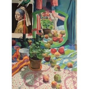 Cromer, Apples and Vermeer Portrait