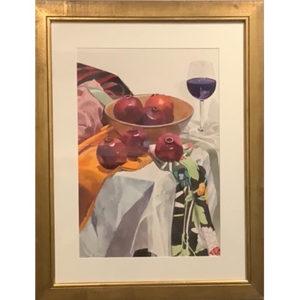 Cromer, Pomegranite and Red Wine
