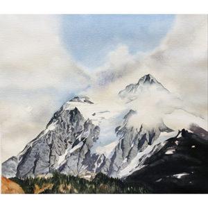Haggman, Mt.Shuksan from Artist Point
