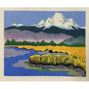 Jaress, Mt-Baker-from-skagit-estuary