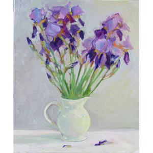 Joy Olney_Pitcher of Garden Iris #2