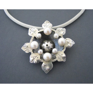 Liane Redpath_Sterling with Pearl Pendant