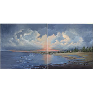 Theriault, Sunset at the Beach
