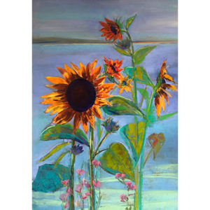 Woolford, Sunflowers at Sunset